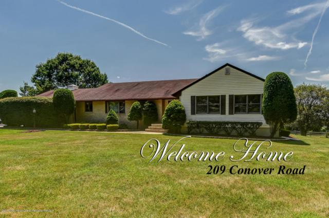 209 Conover Road, Morganville, NJ 07751 (MLS #21730072) :: The Dekanski Home Selling Team