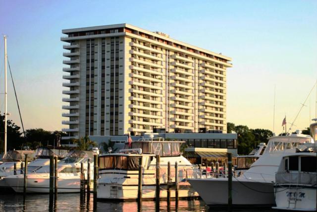 1 Channel Drive 912/913, Monmouth Beach, NJ 07750 (MLS #21731025) :: The Dekanski Home Selling Team