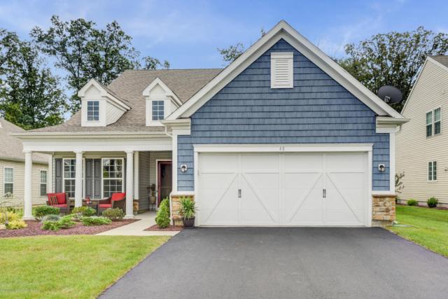 48 W Da Vinci Way, Farmingdale, NJ 07727 (MLS #21736150) :: The Dekanski Home Selling Team