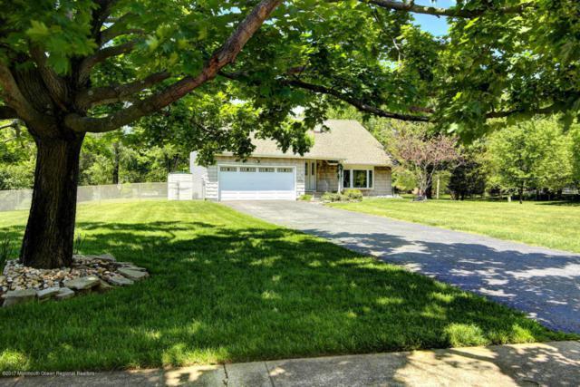 126 Sweetmans Lane, Manalapan, NJ 07726 (MLS #21736218) :: The Dekanski Home Selling Team