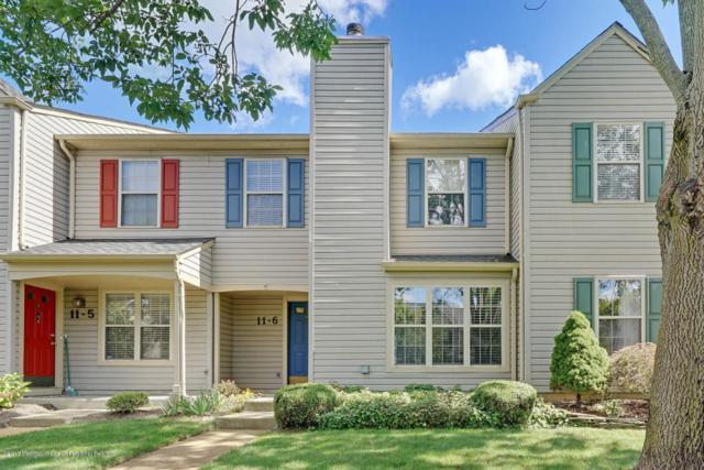 11 Stuart Drive #6, Freehold, NJ 07728 (MLS #21736266) :: The Dekanski Home Selling Team