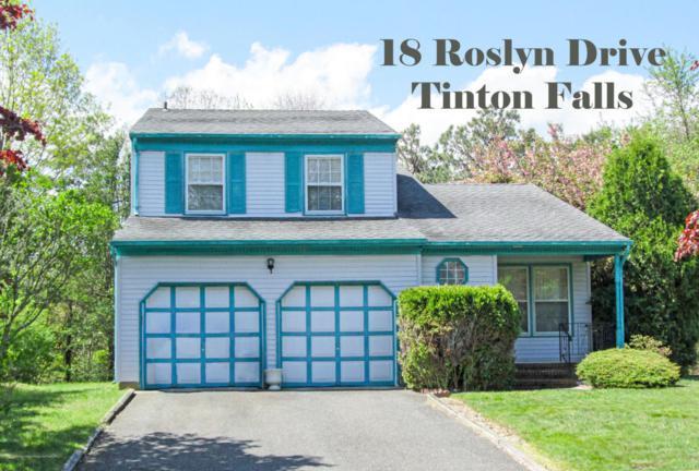 18 Roslyn Drive, Tinton Falls, NJ 07753 (MLS #21737352) :: The Dekanski Home Selling Team