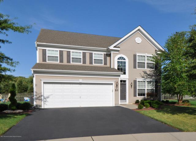 53 Bristol Road, Manalapan, NJ 07726 (MLS #21737535) :: The Dekanski Home Selling Team