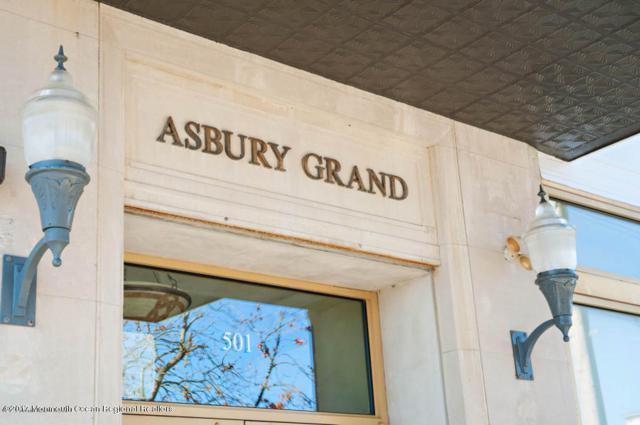 501 Grand Avenue #605, Asbury Park, NJ 07712 (MLS #21738350) :: The Dekanski Home Selling Team