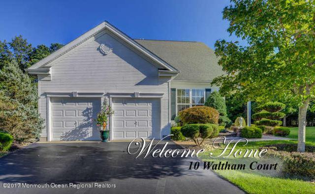 10 Waltham Court, Jackson, NJ 08527 (MLS #21738357) :: The Dekanski Home Selling Team
