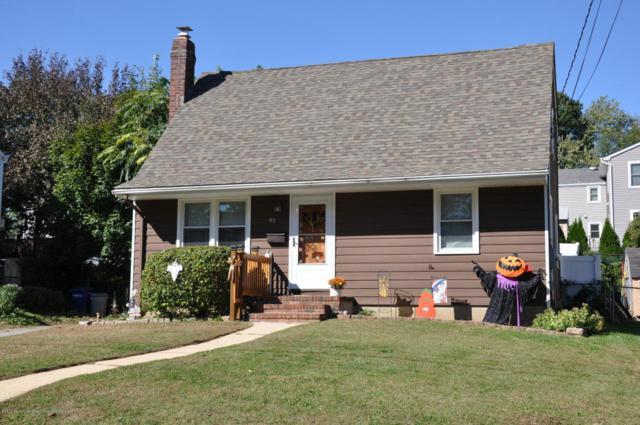 91 Hillside Street, Red Bank, NJ 07701 (MLS #21740623) :: The Dekanski Home Selling Team