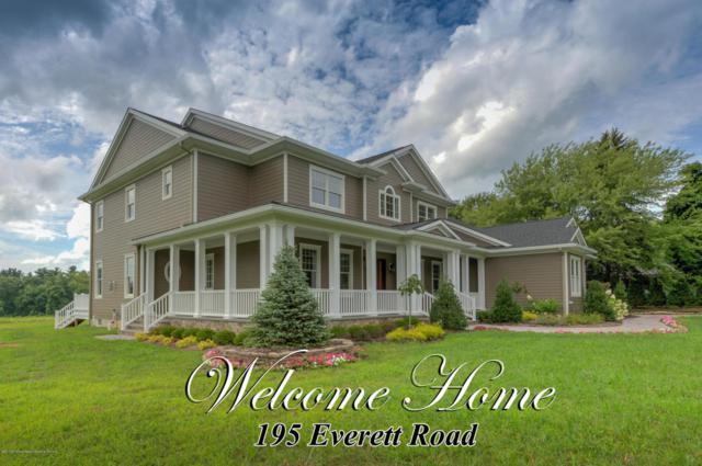 195 Everett Road, Holmdel, NJ 07733 (MLS #21745526) :: The Force Group, Keller Williams Realty East Monmouth