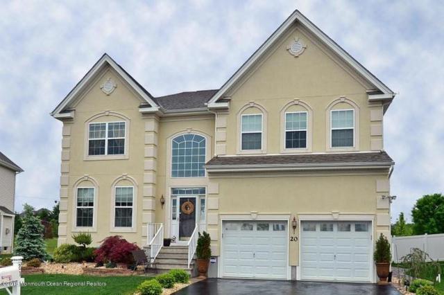 20 Mulberry Drive, Manalapan, NJ 07726 (MLS #21831097) :: The Dekanski Home Selling Team