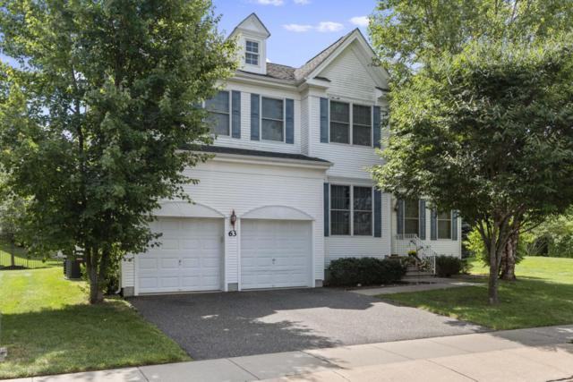 63 Springhouse Circle, Manalapan, NJ 07726 (MLS #21831728) :: The Dekanski Home Selling Team
