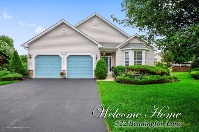 522 Bennington Lane, Lakewood, NJ 08701 (MLS #21834821) :: The Dekanski Home Selling Team