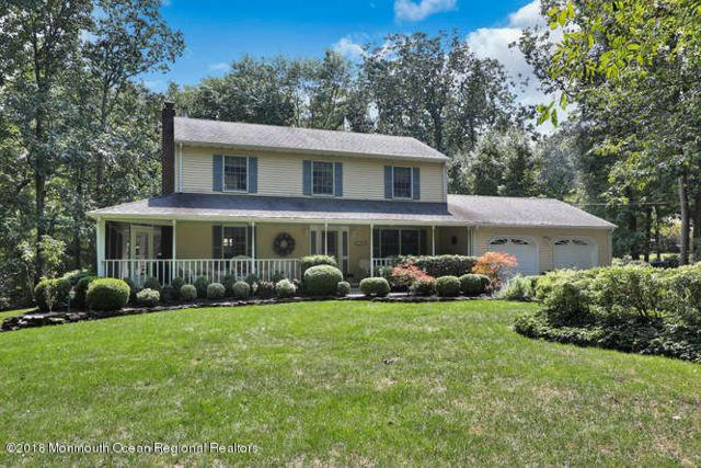 43 Carrs Tavern Road, Millstone, NJ 08510 (MLS #21835671) :: Vendrell Home Selling Team
