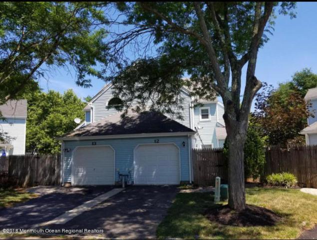 12 Whitman Court, Freehold, NJ 07728 (MLS #21838059) :: The MEEHAN Group of RE/MAX New Beginnings Realty