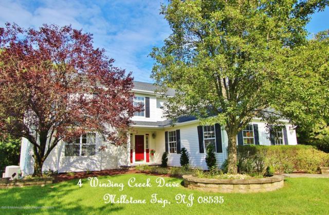 4 Winding Creek Drive, Millstone, NJ 08535 (MLS #21838273) :: Vendrell Home Selling Team