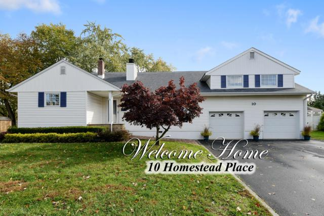 10 Homestead Place, Holmdel, NJ 07733 (#21843319) :: The Force Group, Keller Williams Realty East Monmouth