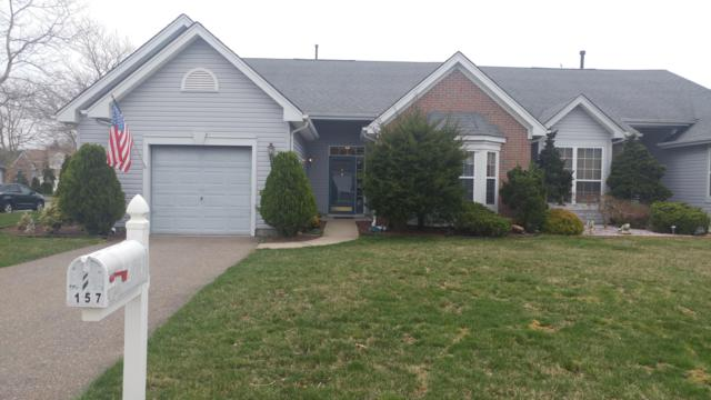 157 Driftwood Drive, Bayville, NJ 08721 (MLS #21914549) :: The MEEHAN Group of RE/MAX New Beginnings Realty