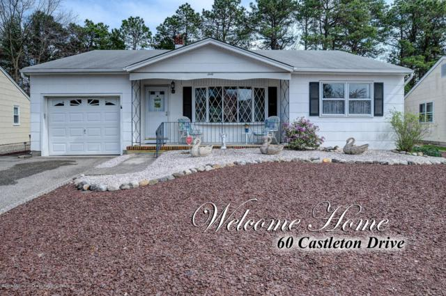 60 Castleton Drive, Toms River, NJ 08757 (MLS #21915459) :: The MEEHAN Group of RE/MAX New Beginnings Realty