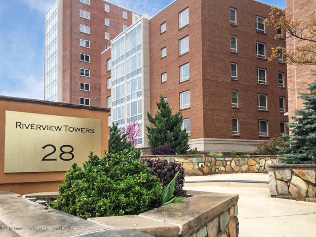 28 Riverside Avenue 2H, Red Bank, NJ 07701 (MLS #21917390) :: The MEEHAN Group of RE/MAX New Beginnings Realty