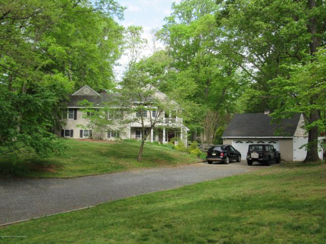 44 Swimming River Road, Lincroft, NJ 07738 (MLS #21919434) :: The Sikora Group