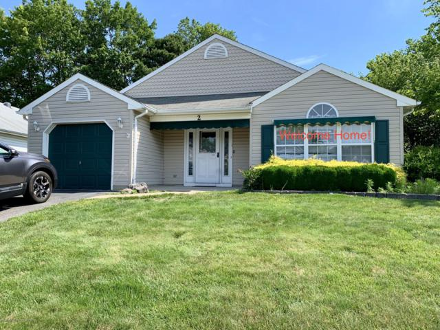 2 Golden Rod Court, Brick, NJ 08724 (MLS #21925013) :: The MEEHAN Group of RE/MAX New Beginnings Realty