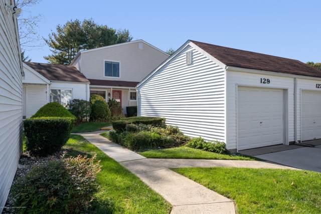 129 Greenwood Drive, Freehold, NJ 07728 (MLS #21943204) :: William Hagan Group