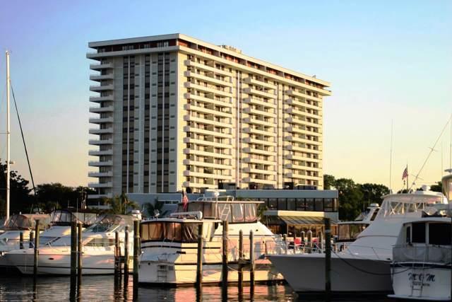 1 Channel Drive #1404, Monmouth Beach, NJ 07750 (MLS #21944644) :: William Hagan Group