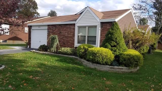 39 Suffolk Way, Marlboro, NJ 07746 (MLS #21944779) :: The Sikora Group