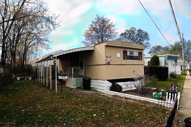 41 Bayshore Mobile Mnr, Hazlet, NJ 07730 (MLS #21945159) :: The Sikora Group