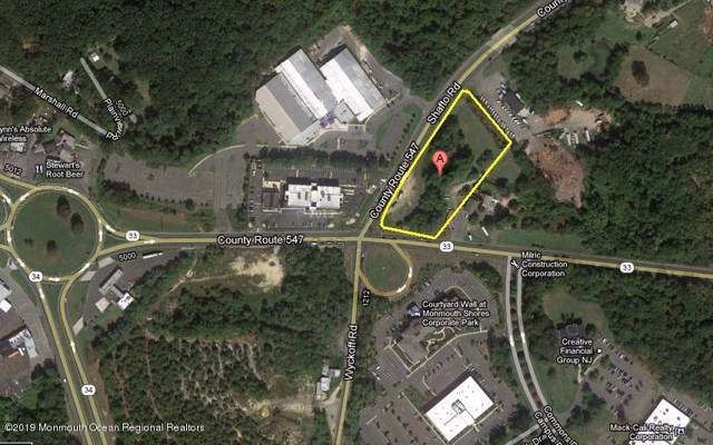 4816 Route 33, Wall, NJ 07753 (MLS #21947670) :: The Sikora Group