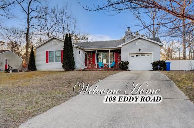108 Eddy Road, Manahawkin, NJ 08050 (MLS #22002665) :: The MEEHAN Group of RE/MAX New Beginnings Realty