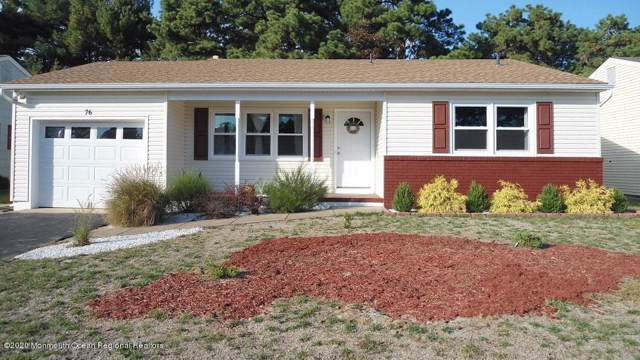 76 Whitmore Drive, Toms River, NJ 08757 (MLS #22003172) :: The Premier Group NJ @ Re/Max Central