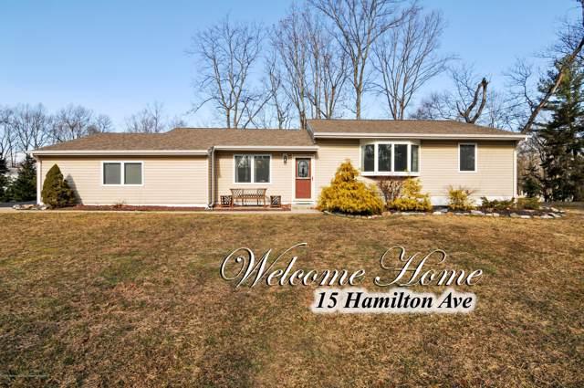 15 Hamilton Avenue, Morganville, NJ 07751 (MLS #22003326) :: William Hagan Group