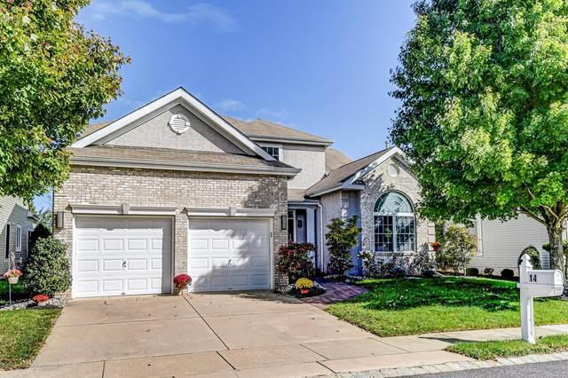 14 Turnberry Place, Jackson, NJ 08527 (MLS #22006857) :: The Dekanski Home Selling Team