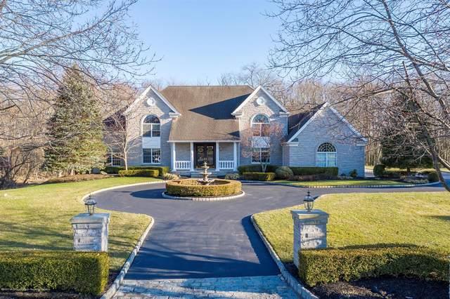 1 Plantation Drive, Freehold, NJ 07728 (#22007282) :: Daunno Realty Services, LLC