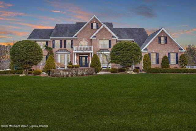 13 Rifkin Court, Manalapan, NJ 07726 (MLS #22007357) :: The Dekanski Home Selling Team