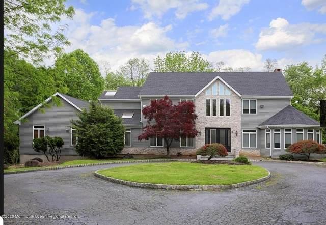6 Taylor Lake Court, Manalapan, NJ 07726 (MLS #22007601) :: The Sikora Group