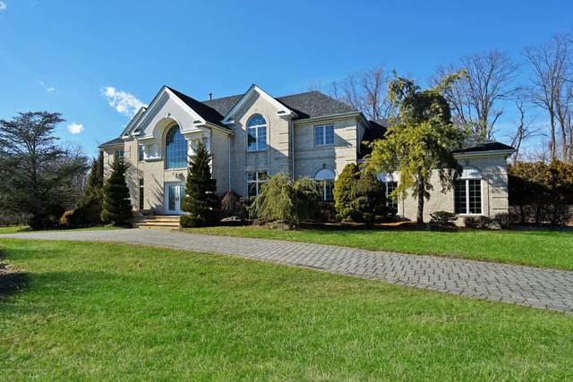 38 Blue Hills Drive, Holmdel, NJ 07733 (MLS #22007689) :: William Hagan Group