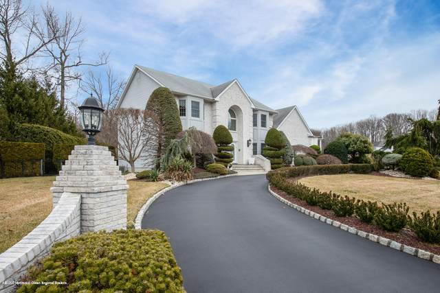 16 Green Ridge Drive, Manalapan, NJ 07726 (MLS #22009232) :: William Hagan Group