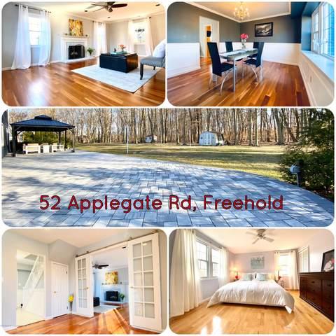 52 Applegate Road, Freehold, NJ 07728 (MLS #22009824) :: William Hagan Group