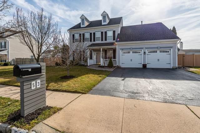 53 Fallsington Place, Freehold, NJ 07728 (#22009941) :: Nexthome Force Realty Partners
