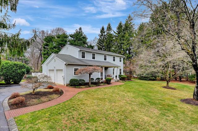 10 Stonehenge Drive, Lincroft, NJ 07738 (MLS #22011246) :: William Hagan Group
