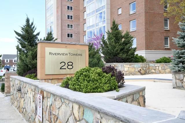 28 Riverside Avenue 6J, Red Bank, NJ 07701 (MLS #22014741) :: The Sikora Group