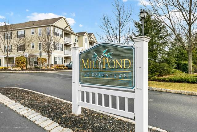 432 Mill Pond Way #83, Eatontown, NJ 07724 (MLS #22014994) :: William Hagan Group
