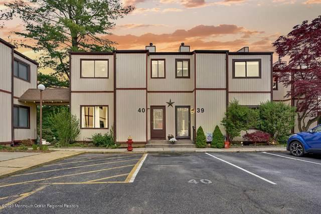 40 Ellen Heath Drive #40, Matawan, NJ 07747 (MLS #22016660) :: William Hagan Group