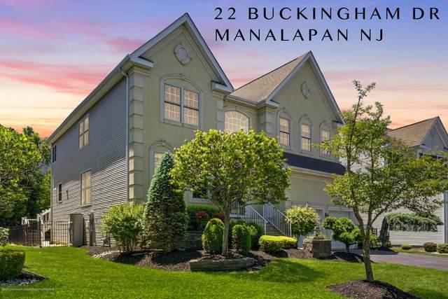 22 Buckingham Drive, Manalapan, NJ 07726 (MLS #22017627) :: William Hagan Group
