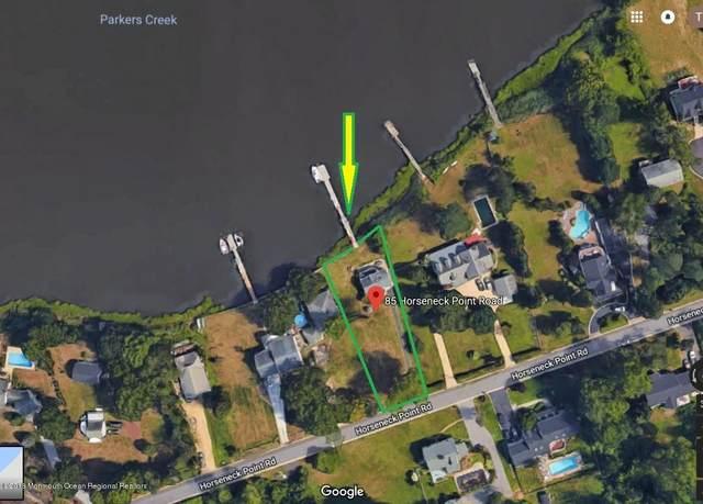 85 Horseneck Point Road, Oceanport, NJ 07757 (MLS #22017795) :: The Sikora Group