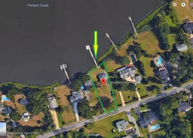 85 Horseneck Point Road, Oceanport, NJ 07757 (MLS #22017798) :: The Sikora Group