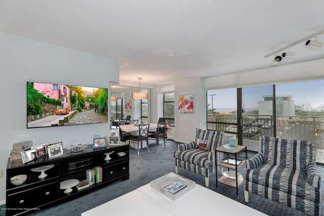 787 Ocean Avenue #206, Long Branch, NJ 07740 (MLS #22019929) :: William Hagan Group