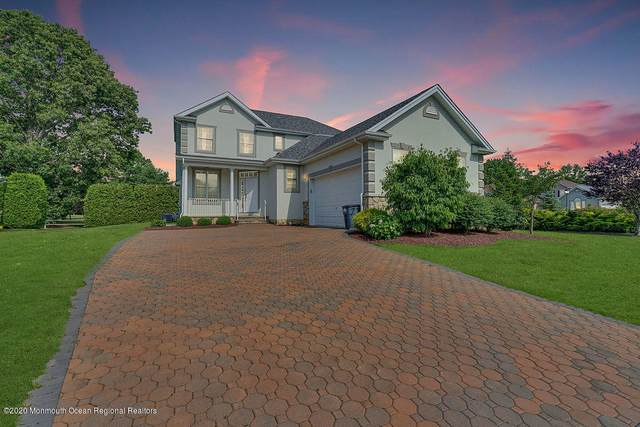 77 E Parsonage Way, Manalapan, NJ 07726 (MLS #22021493) :: The MEEHAN Group of RE/MAX New Beginnings Realty
