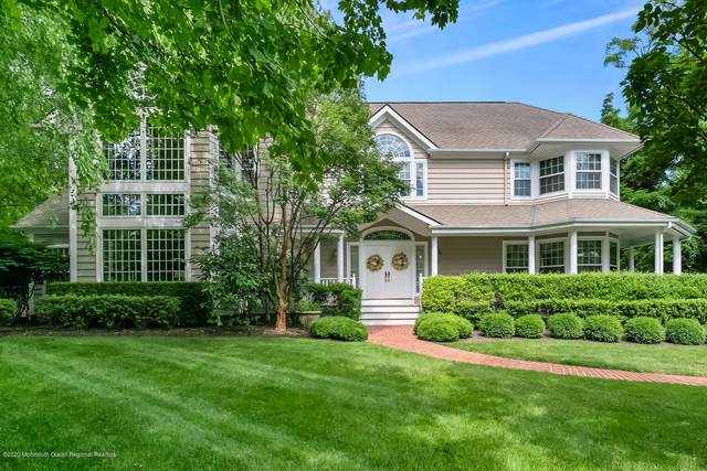 2 Shadowbrook Drive, Colts Neck, NJ 07722 (MLS #22022805) :: The Sikora Group