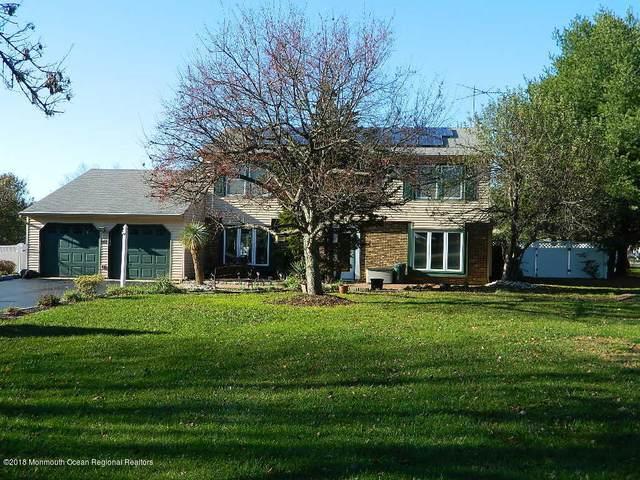 148 Sweetmans Lane, Manalapan, NJ 07726 (MLS #22023305) :: The Sikora Group